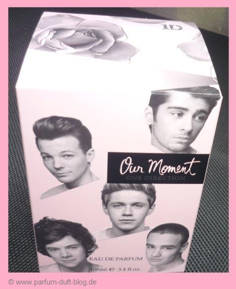 "Die Verpackung ""our-moment"" by one direction"