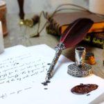 Füller mit Tinte